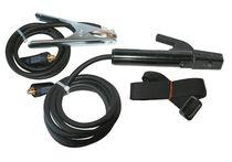 Ensemble porte électrode + pince de masse 10/25
