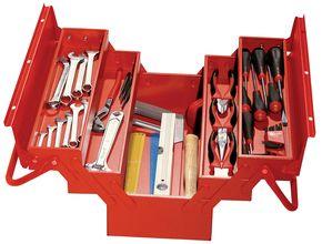 Caisses à outils garnies