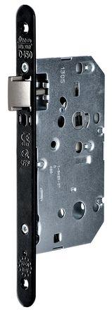 Serrure série D 450 CFPF têtière acier noir