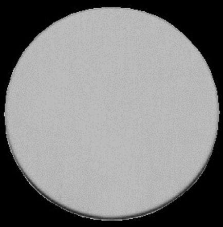 Rosace ronde inox Randi 7145