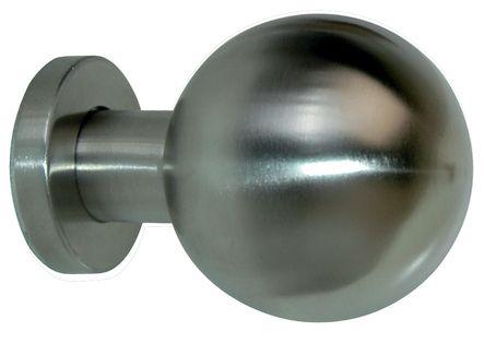 Bouton de porte inox