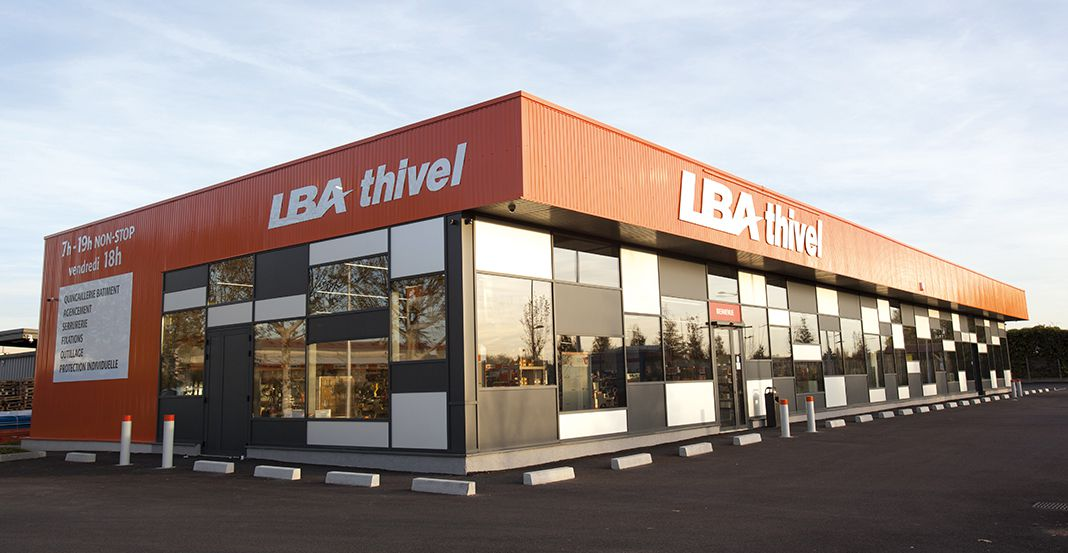 LBA THIVEL MAGASIN VAULX-EN-VELIN